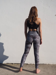 Gerrycan Leopard Activewear Full Length Compression Tights