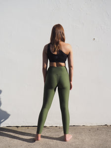 Gerrycan Khaki High waisted Compression Leggings