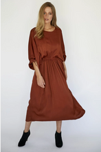 Load image into Gallery viewer, NORA DRESS - RED CLAY