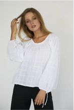 Load image into Gallery viewer, DAPHINE BLOUSE - WHITE