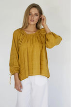 Load image into Gallery viewer, DAPHINE BLOUSE - OCHRE