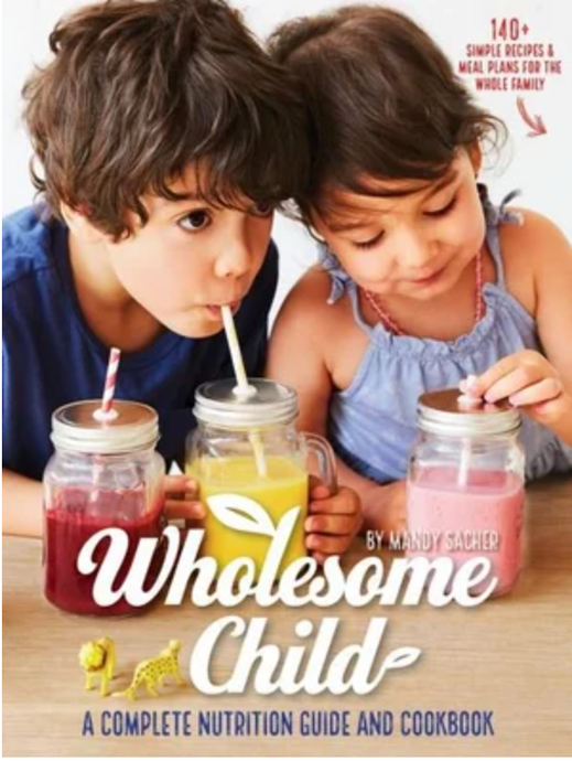 Wholesome Child A Complete Nutrition Guide and Cookbook By Mandy Sacher