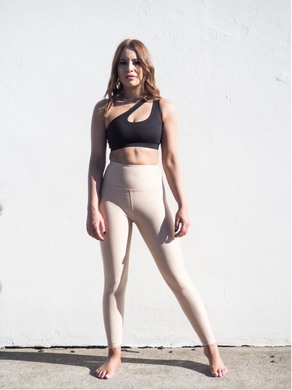Gerrycan Celine Full Length Compression Leggings in Tan