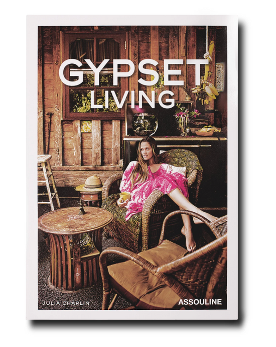 Gypset Living Hardcover book - Assouline