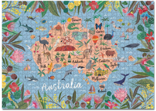 Load image into Gallery viewer, 1000 PIECE PUZZLE - AUSTRALIA EDITION