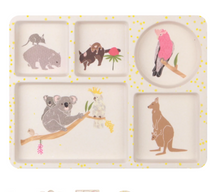 Load image into Gallery viewer, Divided Plate Set - Australiana - 3 Pack