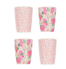 Load image into Gallery viewer, 4pk Tumblers - In Bloom and Pink Spot