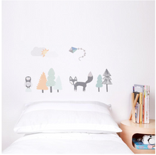 Load image into Gallery viewer, Love Mae - Fox and Friends Wall Decal