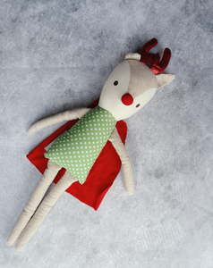 Super Hero Rudolf - Alimrose Dolls Limited Edition
