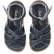 Load image into Gallery viewer, Salt Water Sandal Original - Navy - Child