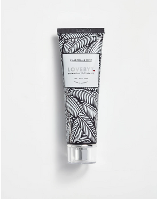 Love Byt: Charcoal & Mint Toothpaste