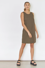 Load image into Gallery viewer, DRIFTER DRESS - DARK ALMOND
