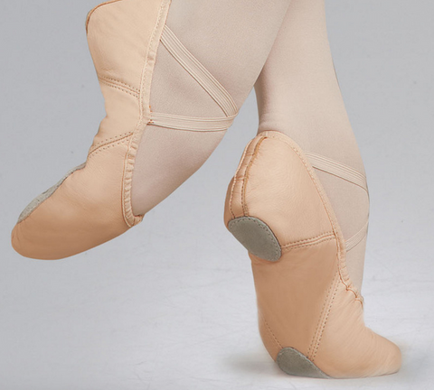 Capezio | Leather Split Sole Juliet Ballet Shoe | 2027