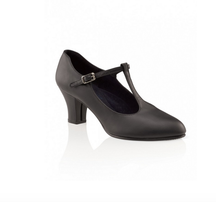 Capezio - Jr Footlight™ T-Strap Character Shoe - 750
