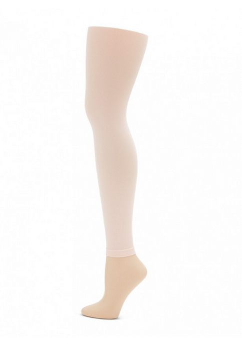 Capezio footless ultrasoft tights in ballet pink