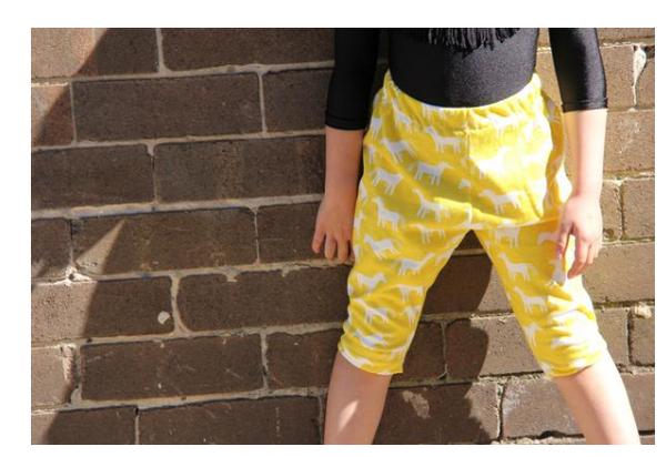iluca | Hartley Horsey Print Child Harem Pants - Unisex