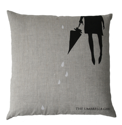 UMBRELLA GIRL CUSHION