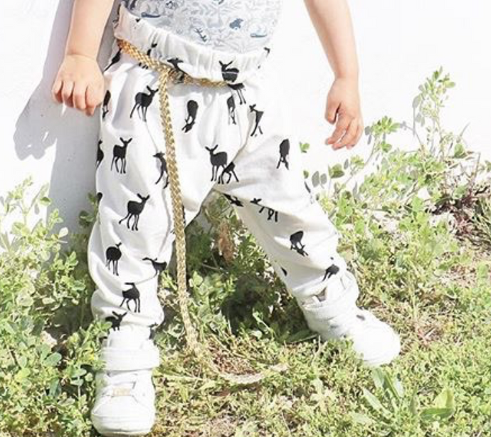 iluca the label:  gold metallic adjustable belt for kids
