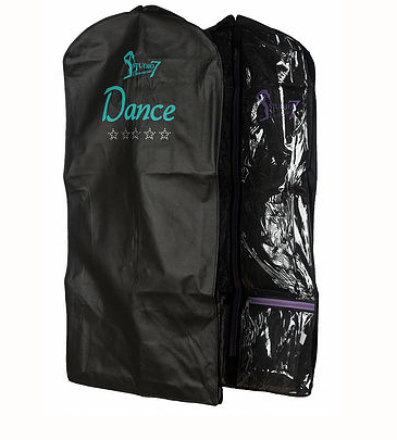 Studio 7 Dancewear GB02 Short Garment Bag Premium (Turquoise and Purple) Classic (Black)