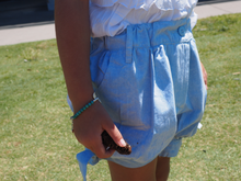 Load image into Gallery viewer, iluca the label: ISLA CHAMBRAY TIE UP SHORTS