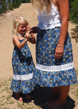 Load image into Gallery viewer, iluca the label: HARLOW FROU FROU TIE UP TOP - KIDS