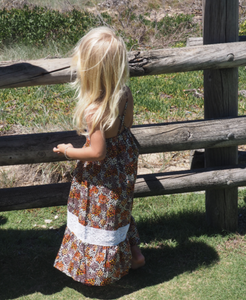 iluca the label | Aubree Vintage Crochet Smock - Girls Dress for Babies to Tweens. - HANDMADE + ORGANIC COTTON