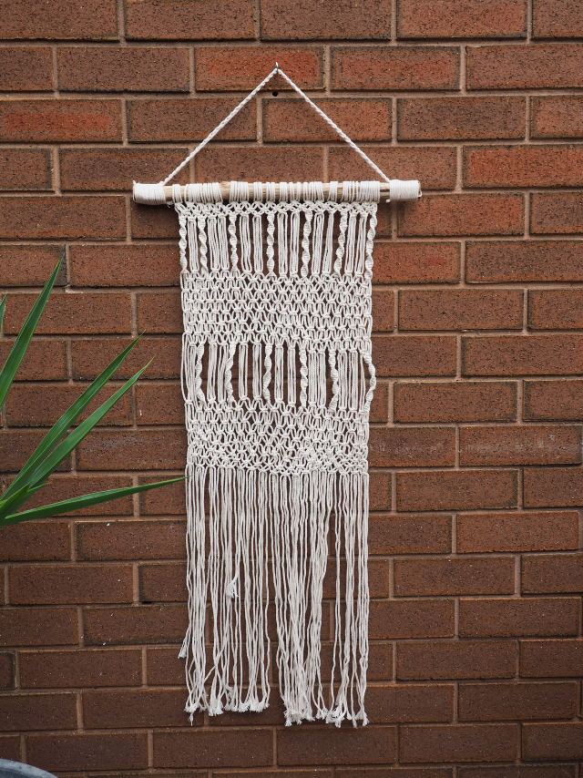 LONG MACRAME - TWIST N TWIRL