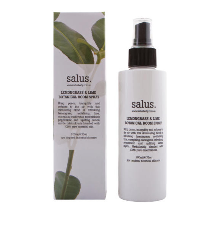 SALUS BODY - Lemongrass & Lime Botanical Room Spray 200ml