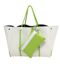 Load image into Gallery viewer, NEO BY GERRY - WHITE SAIL AWAY  NEOPRENE CARRY ALL BAG - GERRY CAN