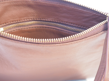 Load image into Gallery viewer, Lush Classic Brown Soft Leather Clutch