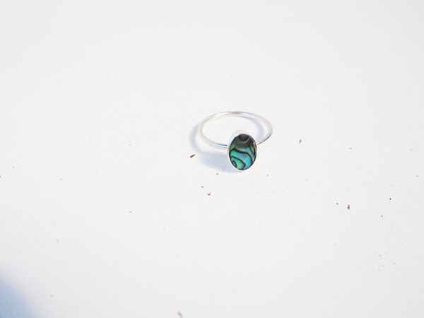 Sterling Silver Jade Opal Ring