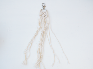 Macrame Mini Key Ring
