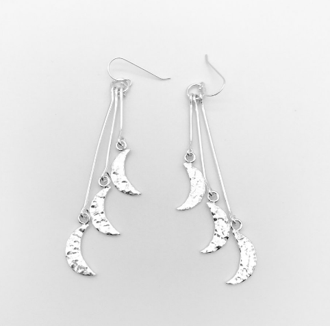 KazMexico  MOONSTRUCK EARRINGS