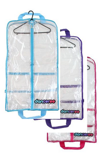 Danceree- Costume Bag Standard Plus Available Blue, Purple & Pink Trim