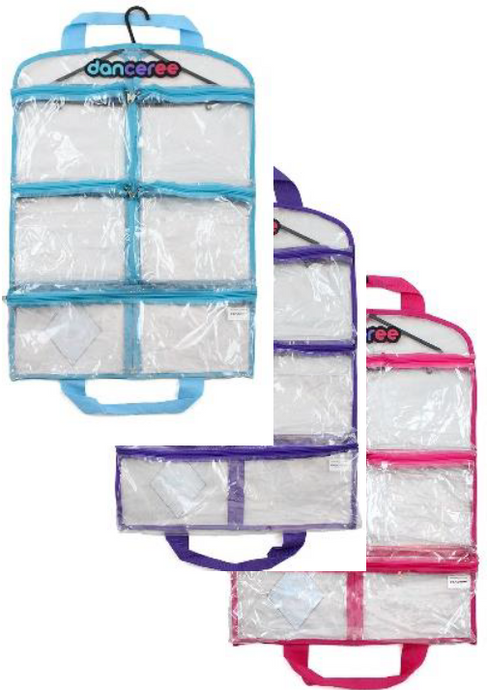 Danceree - Costume Bag Pockets Available Blue, Purple & Pink Trim