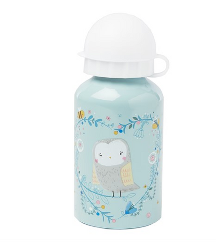 WOODLAND FRIENDS OWL WATER BOTTLE