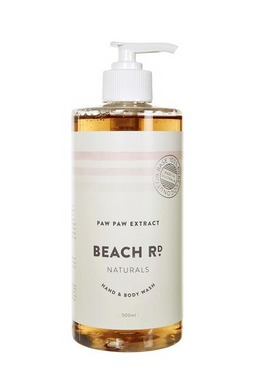 BEACH RD. NATURALS - Paw Paw Extract Hand & Body Wash - 500ml