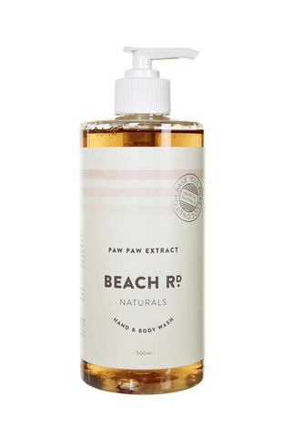 HAND & BODY WASH - PAW PAW EXTRACT - 500ML  Beach Road Naturals