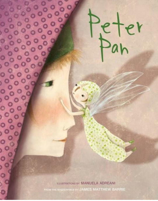 Peter Pan Hard Cover Book By: Manuela Adreani