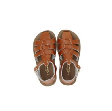 Salt Water Sandal Sharks - Tan - Child