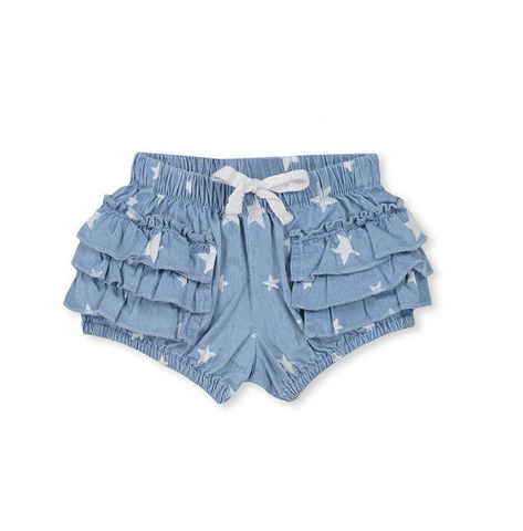 Milky Chambray Bloomers- Baby