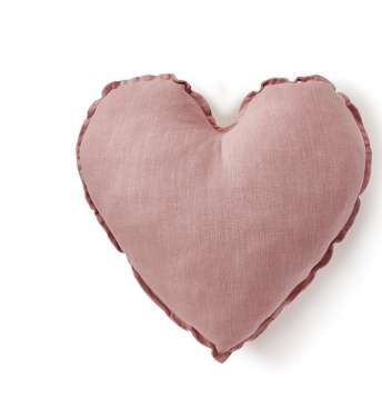 Nanahuchy - Heart Cushion-Blush Pink 45cm