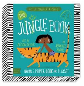 Babylit Jungle Book Playset Animal Primer Book and Playset