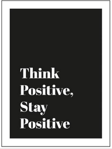 Think Positive, Stay Positive Book By Summersdale