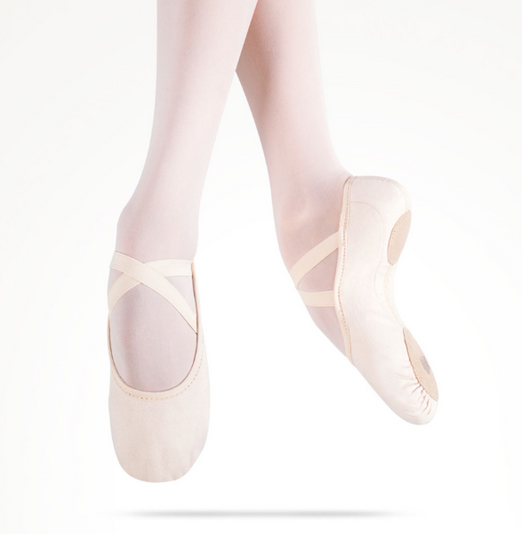 MDM Performance Intrinsic Canvas Hybrid split sole ballet slipper - adult