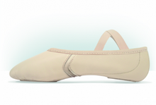 Load image into Gallery viewer, MDM Performance Elemental Reflex Leather Hybrid Split Sole ballet slipper adult