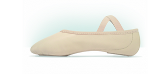 MDM Performance split sole leather Hybrid Sole ballet shoe