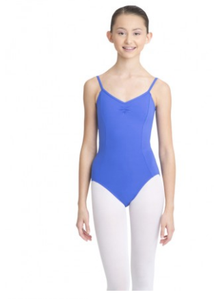 CAPEZIO - Adjustable Camisole Leotard with Pinch Front - MC100