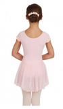 CAPEZIO | Short Sleeve Nylon Dress  |  3966C