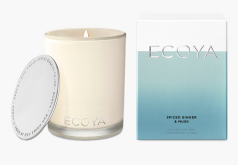 Ecoya Spiced Ginger & Musk Madison Jar